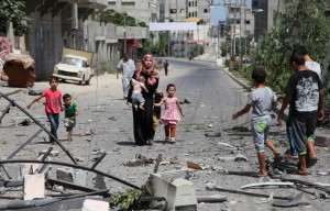 Israeli airstrike hits Nuseirat Refugee Camp in Gaza